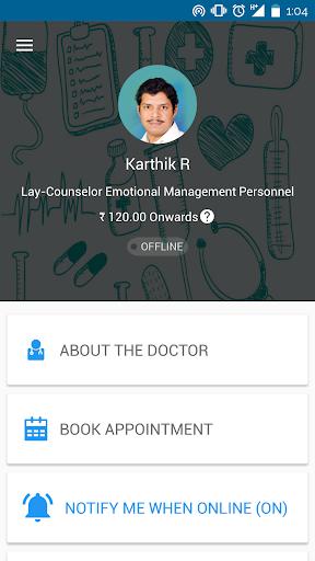 Karthik R Clinic-Lay-Counselor 2.2 screenshots 1