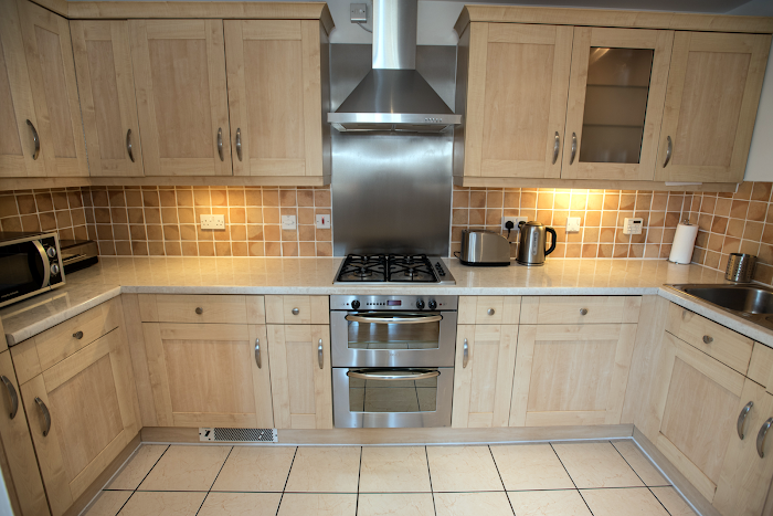 Fully equipped kitchen at Bear Wharf