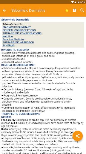 Handbook of Natural Medicine screenshot for Android
