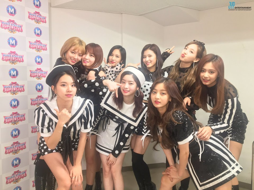 twice music station photo