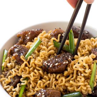 Mongolian Beef Ramen.