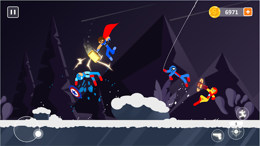 Code Triche Spider Stick Fight - Stickman Fighting Games APK MOD (Astuce) screenshots 2