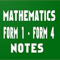 Mathematics form 1 to 4 notes icon