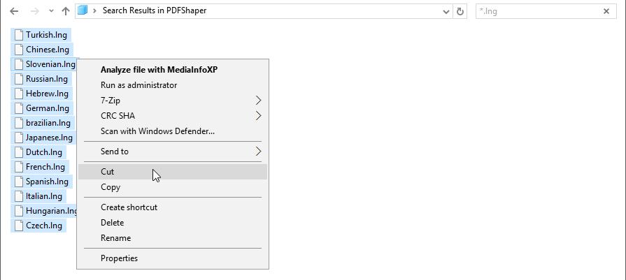 Move language files to lang folder...