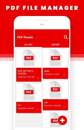 PDF File Reader - Viewer screenshot 2