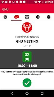 GNU - náhled