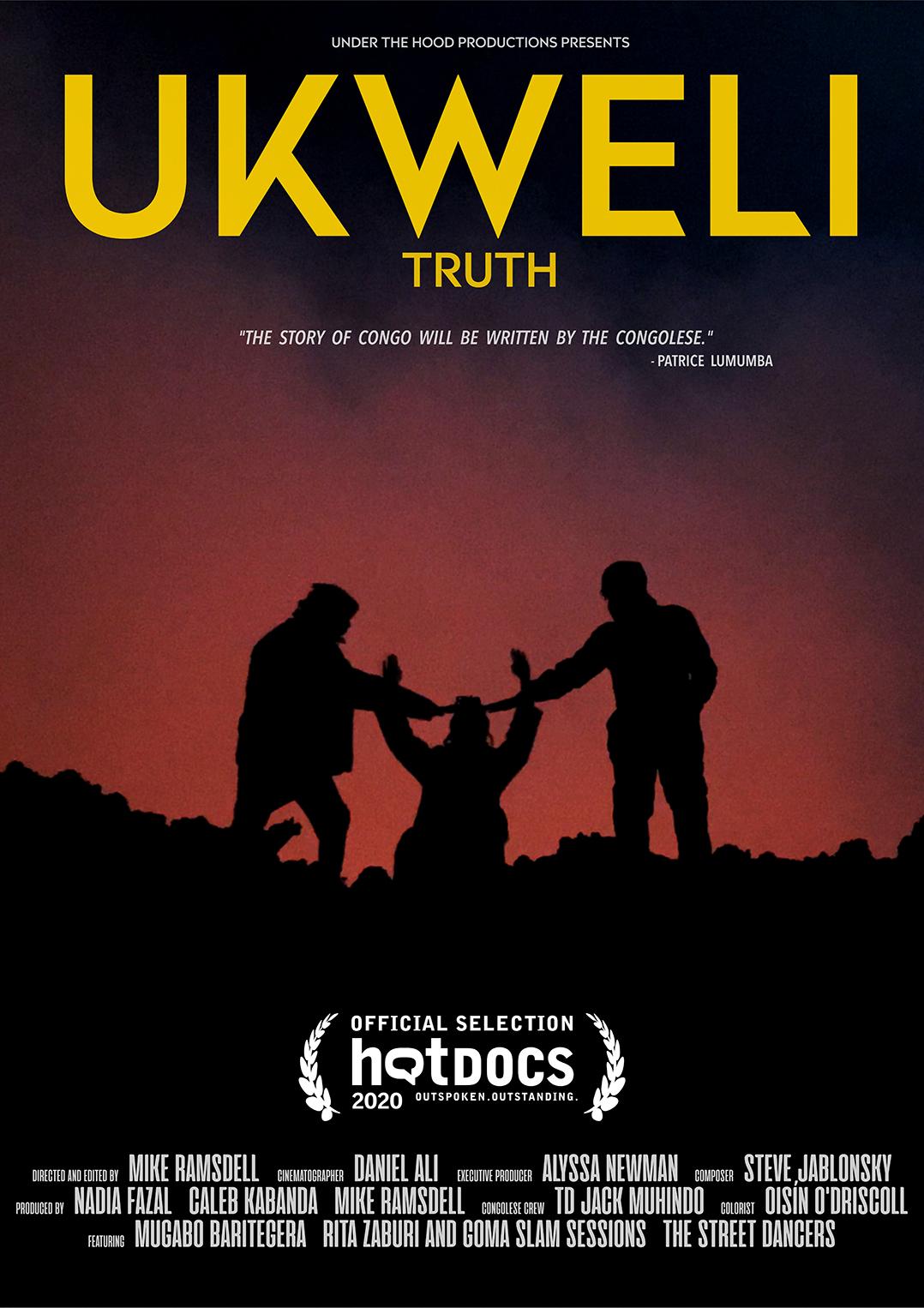 Movie poster for the <i>Ukweli</i> documentary