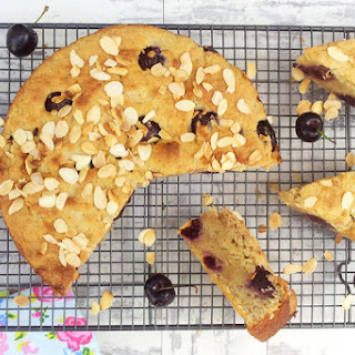 Cherry Almond Cake [vegan]