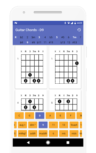 Guitar Chords Finder - No Ads! 1.0.11 screenshots 2
