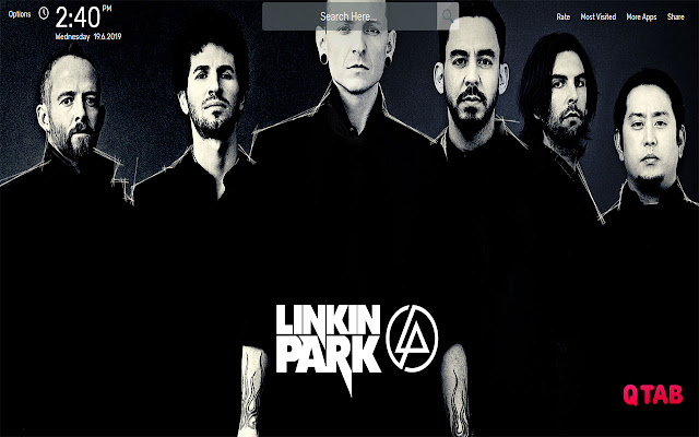 Linkin Park Wallpapers HD Theme