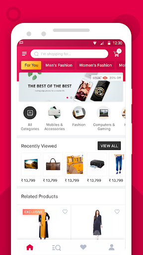 Snapdeal Online Shopping App - Shop Online India 6.8.4 screenshots 1