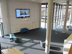 Photo: Open area in the Hive library