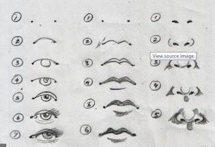 DIY Making Sketch of Face - screenshot thumbnail 08