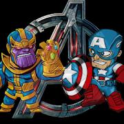 Avengers Thanos Vs Captain America
