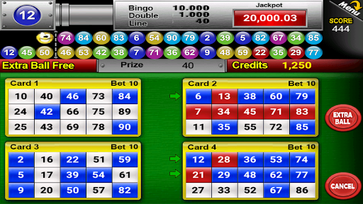 Nine Balls Video Bingo 2.05 screenshots 12