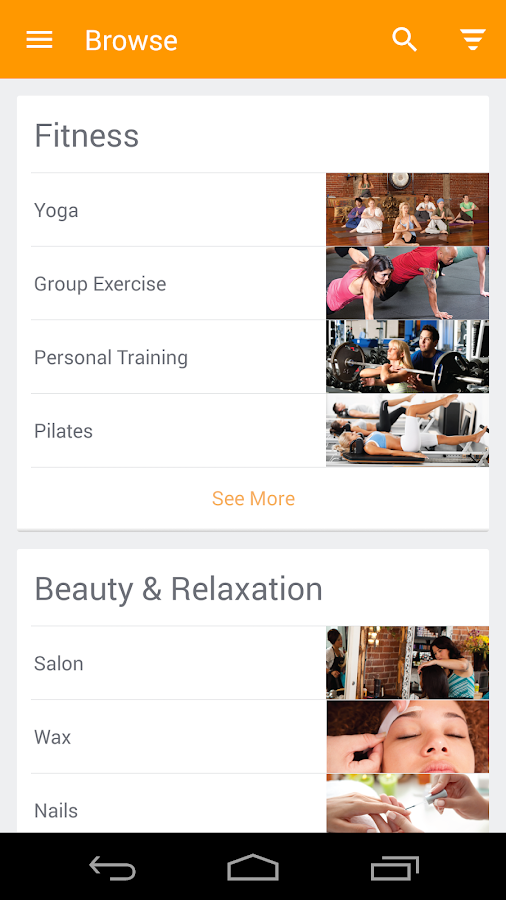 Mindbody Connect Android Apps On Google Play