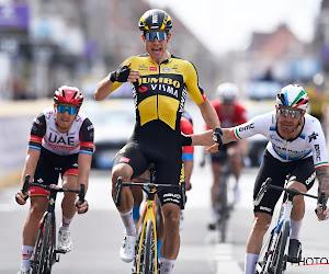 """Wout van Aert heeft waar hij al paar jaar naar op zoek was en looft ploegmaat: """"Van Hooydonck was de sleutelfactor"""""""