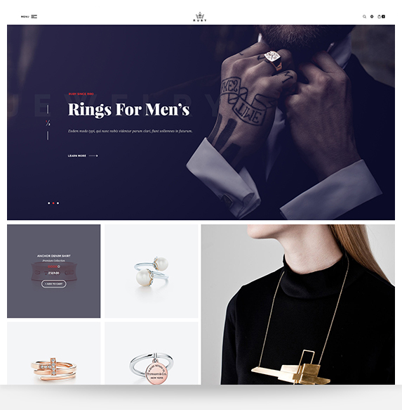 Ruby - Cosmetic Magento theme