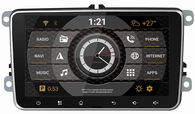 Car Launcher AG Android 9