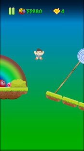 Tchupiki in Bouncyland: a platform adventure