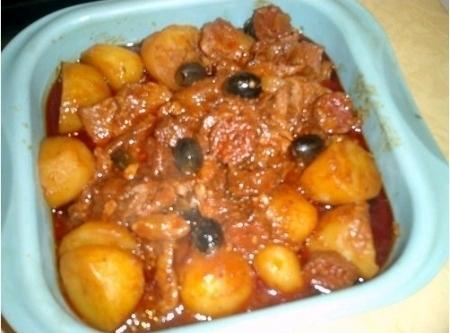 Veal Stew With Chorizo - Sauté De Veau De Lisbonne Recipe