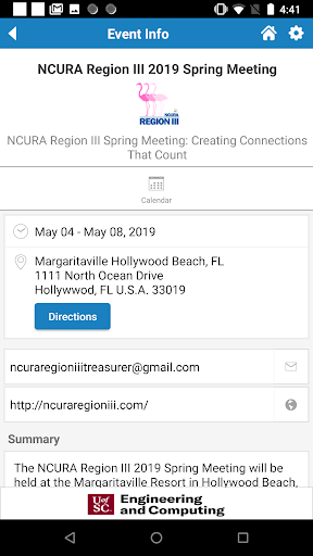 Screenshot for NCURA in United States Play Store
