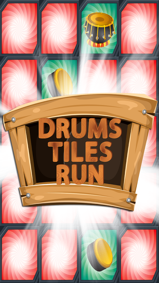 Drums Tiles Run- screenshot