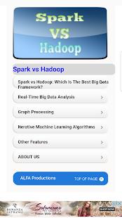 Spark vs Hadoop - náhled
