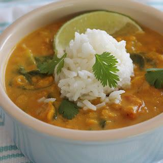 Spiced Lentil Soup.