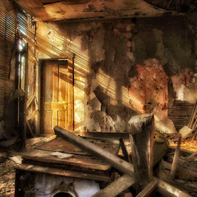 If Walls Could Talk by Kara Brothers - Buildings & Architecture Homes ( cs6, home, house, rural, nik, photoshop, abandoned,  )
