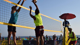 Voley playa del bueno.