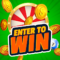 Enter to Win Coin icon