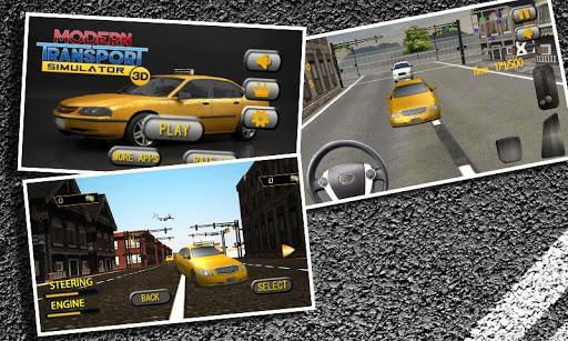 Modern Transport Simulator 3D