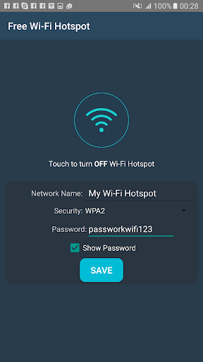 Free Wifi Hotspot Portable 3.3 screenshots 6