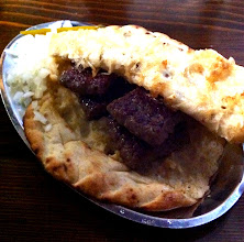 Photo: Banjalučki ćevapi.  Similar to kebabs, minced spiced meat (lamb or beef) grilled and placed in pita-like bread. Specialty of Bosnia and Hercegovina, Serbia, Bulgaria.
