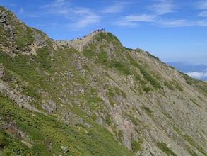 Photo: 仙丈岳山頂方面