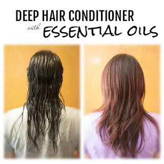 Deep Hair Conditioner with Essential Oils.
