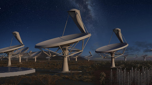 The SKA project is an international effort to build the world's largest radio telescope. (Photo source: SARAO)