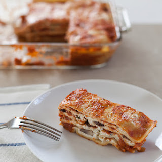 Classic Lasagna With Mushrooms