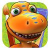 Dino-Zug Malen und Kombinieren