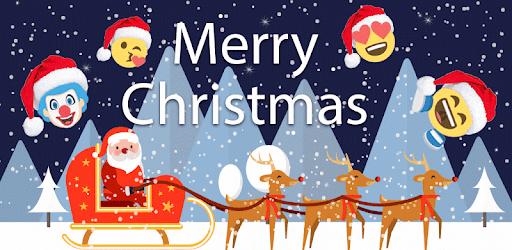 Christmas Emoji Funny Sticker - Apps on