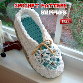 Crochet Pattern Slippers