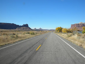 Photo: Heading down Indian Creek (towards the Needles District)