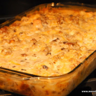Make Ahead Christmas Sausage Breakfast Casserole.