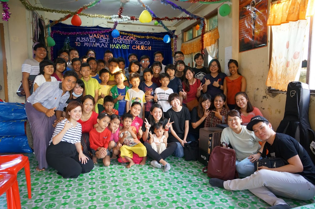 A Marriage And Ministry Made In Heaven: Myanmar Harvest Church