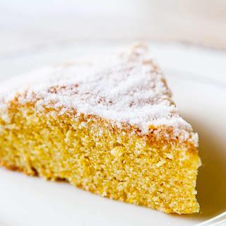 Orange Cornmeal Cake.