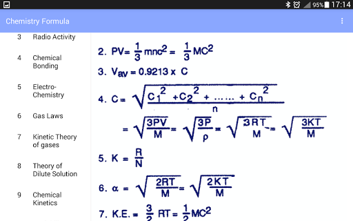 Chemistry Formula 1.3 screenshots 7