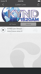 KYND RADIO 1520 AM- screenshot thumbnail