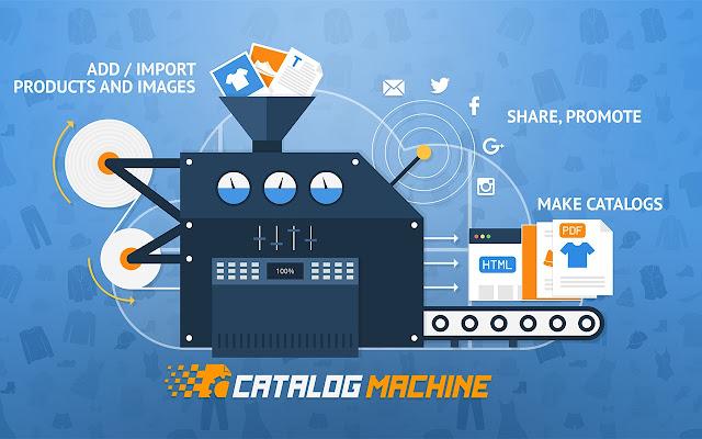 catalog machine easy online catalog maker chrome web store