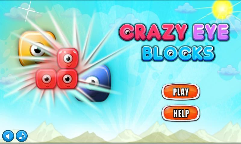 Crazy Eye Blocks- screenshot